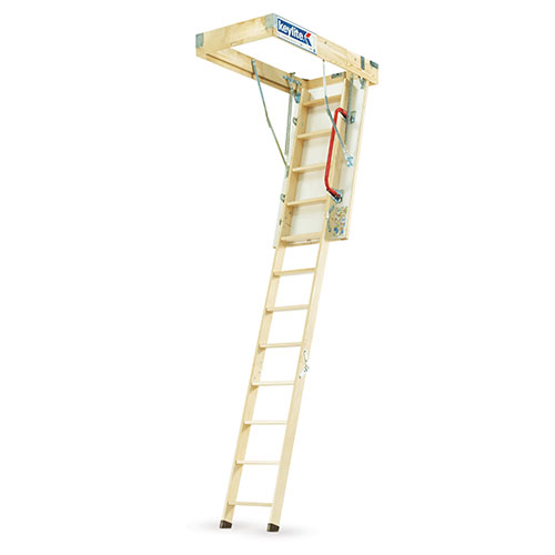 We ask Phil what's so special about the Keylite wooden Loft Ladder