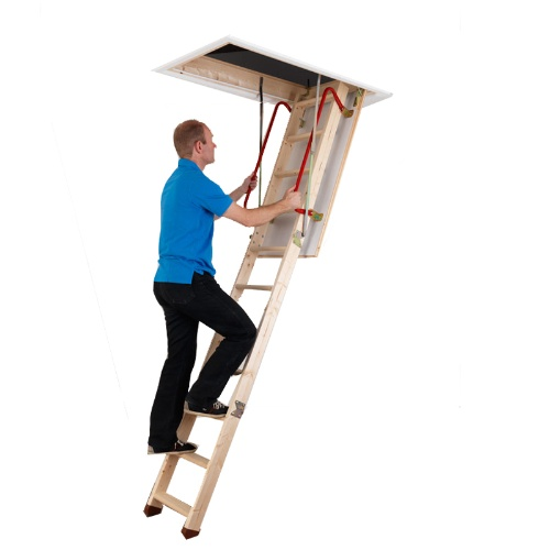 Why have a loft ladder installed?