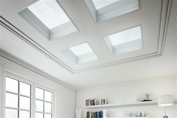Arcteryx 850 Loft Looks Flat: Fixed Flat Glass Roof Windows & Skylights