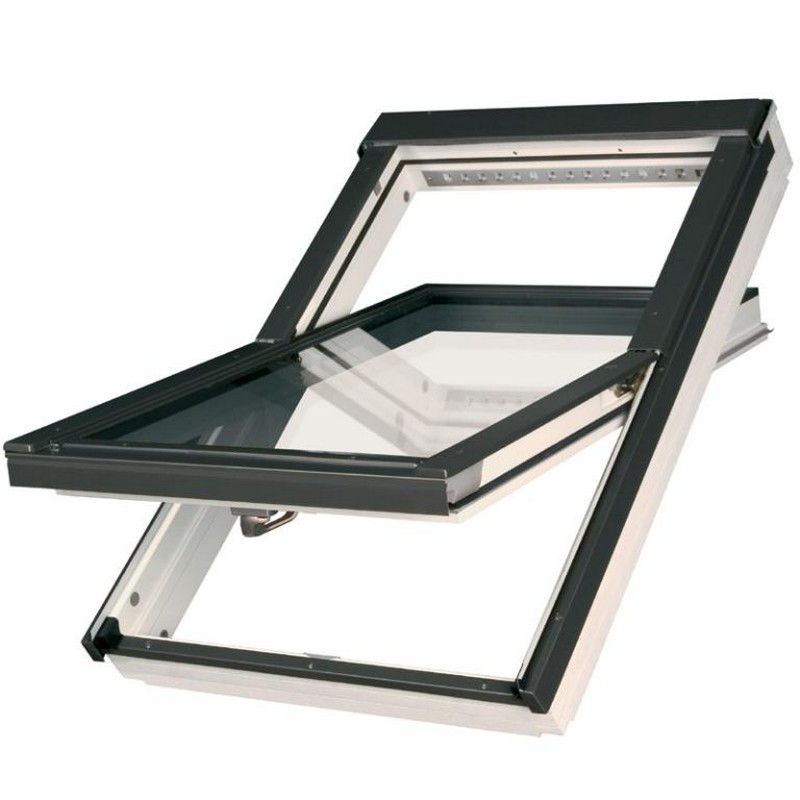 PVC & White Roof Windows