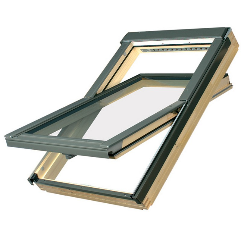 Wood Roof Windows, Velux roof windows