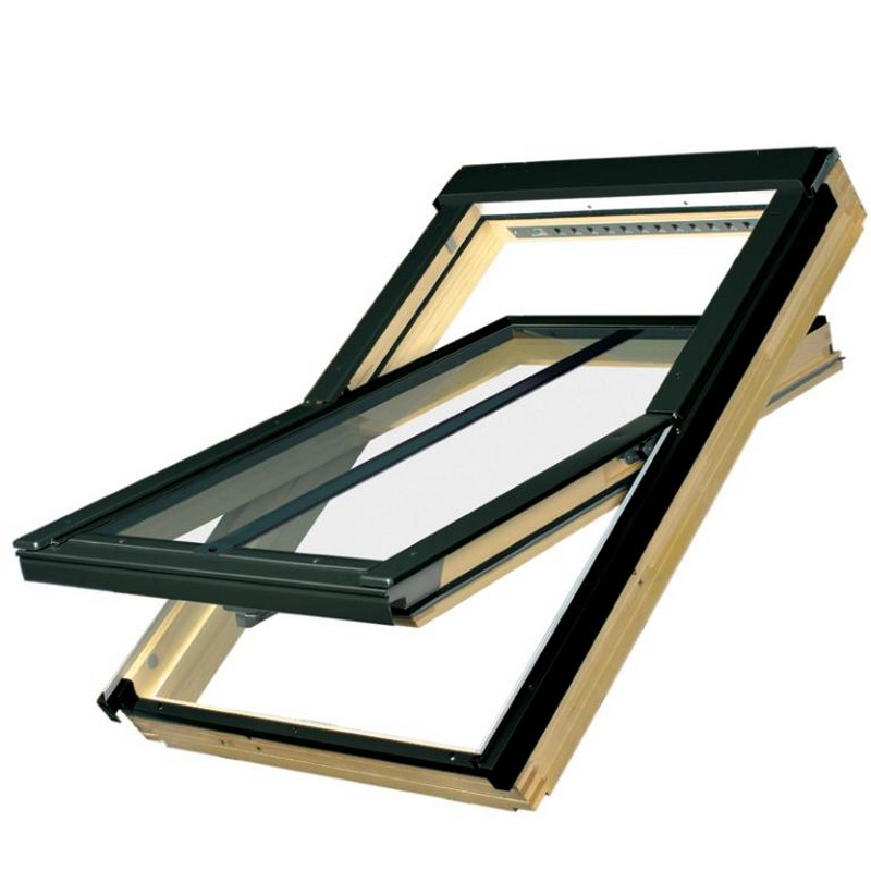 Fakro conservation roof window ftp v c u3 v kit for Velux cladding kit