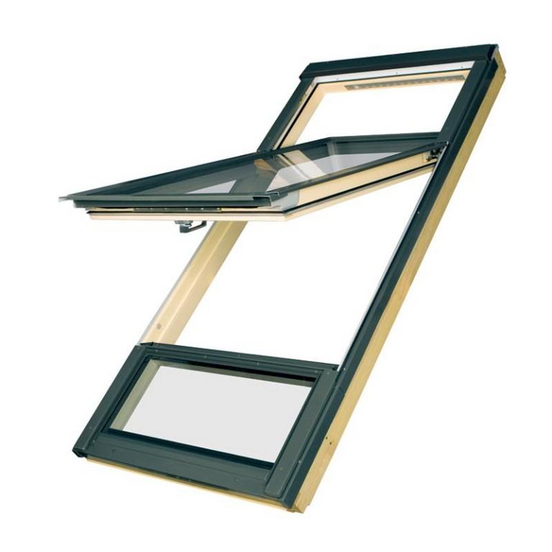 fakro duet roof window fdy v. Black Bedroom Furniture Sets. Home Design Ideas