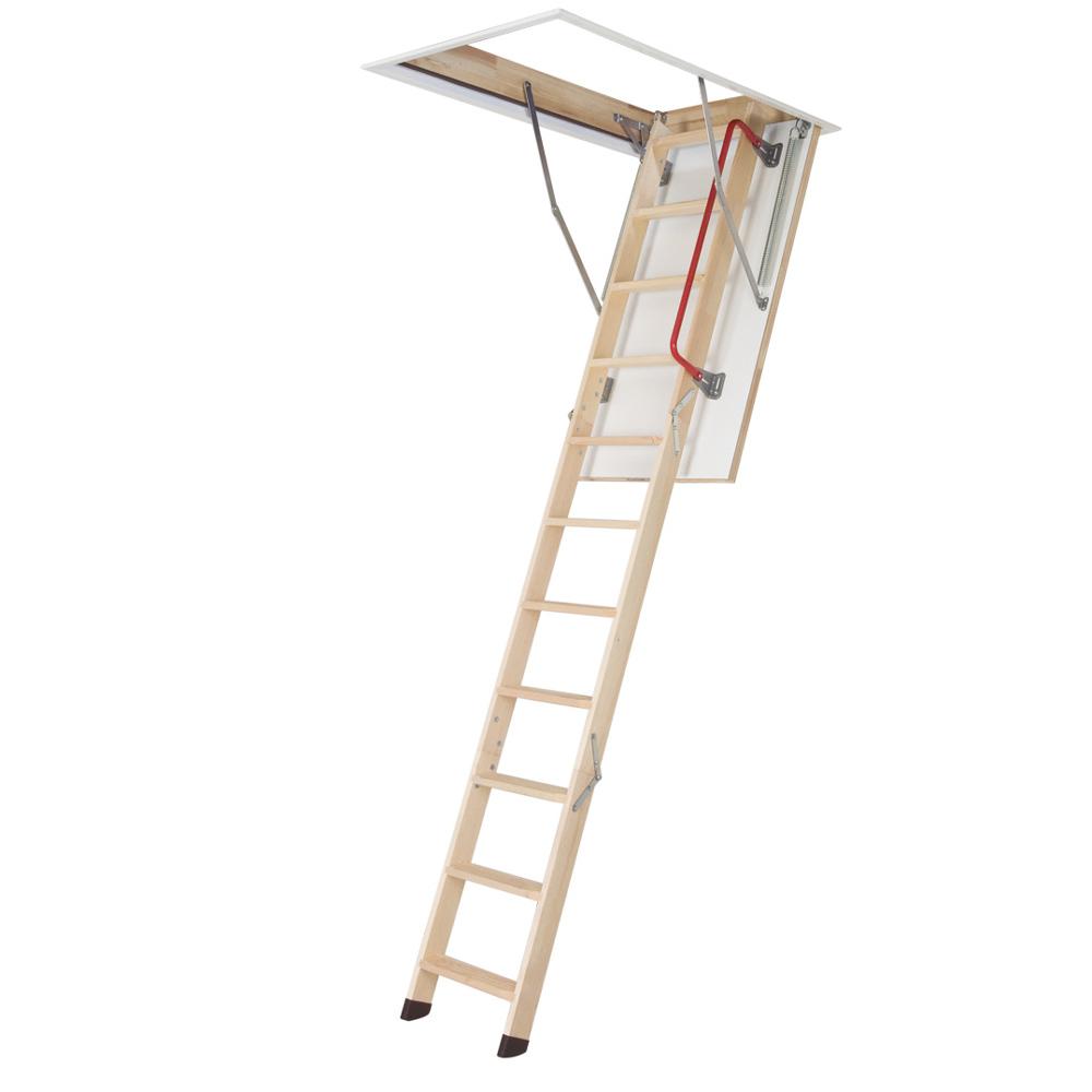 Wood Loft Ladders 3 Section Timber Loft Ladders