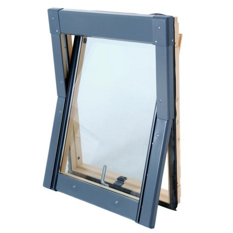 Low Cost, Budget, Economy Wood Roof Windows
