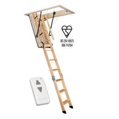 Stira Semi-Automatic Timber Loft Ladder