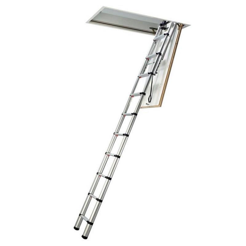 Telesteps Telescoping Ladder : Telesteps telescopic loft ladder