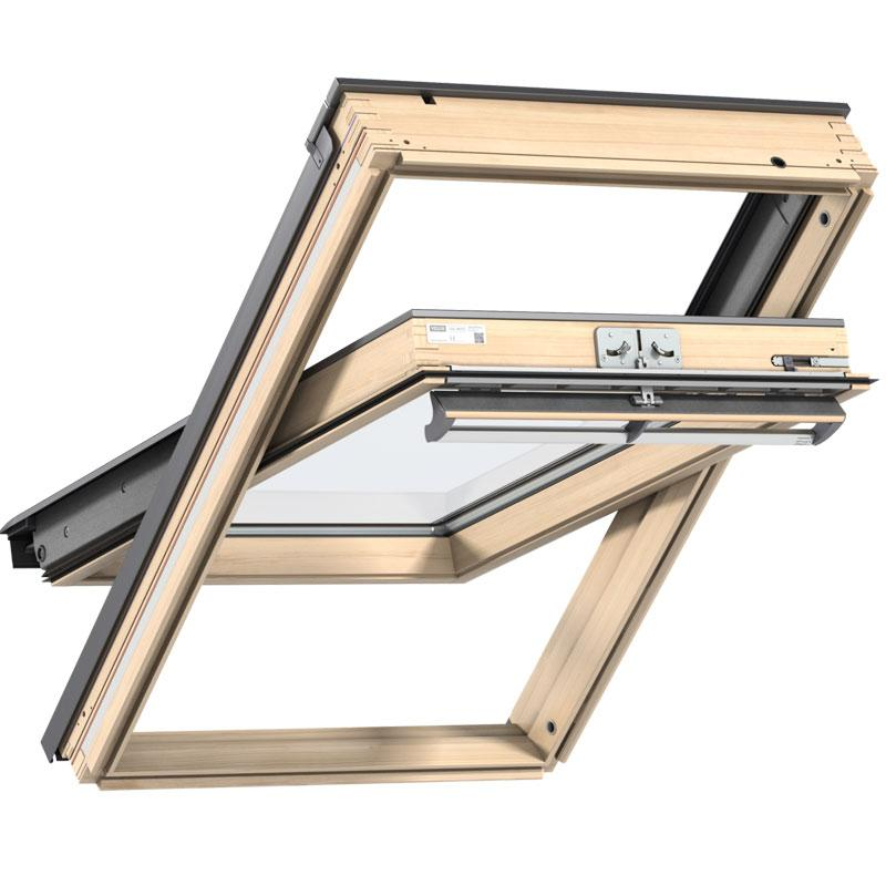 Velux centre pivot timber roof window ggl for Velux customer support