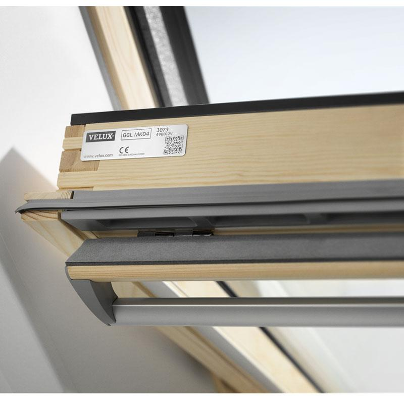 Velux top hung timber roof window gpl for Velux customer support