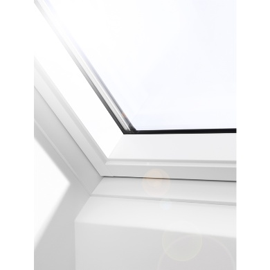 velux painted roof window. Black Bedroom Furniture Sets. Home Design Ideas