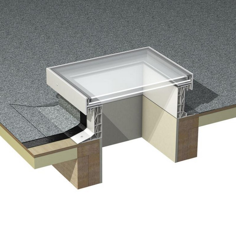 Glass Skylights Amp Rooflights For Flat Roofs Velux