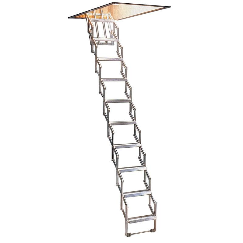 concertina loft attic ladders for homes in the uk. Black Bedroom Furniture Sets. Home Design Ideas