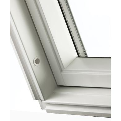 Keylite Centre Pivot White Painted Roof Window High-Therm WFHT