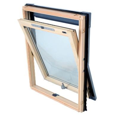 Luctis - Centre Pivot Timber Roof Window