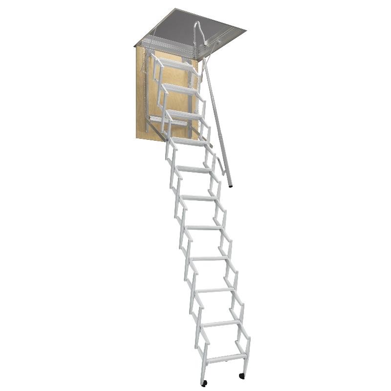 rintal concertina loft ladder. Black Bedroom Furniture Sets. Home Design Ideas
