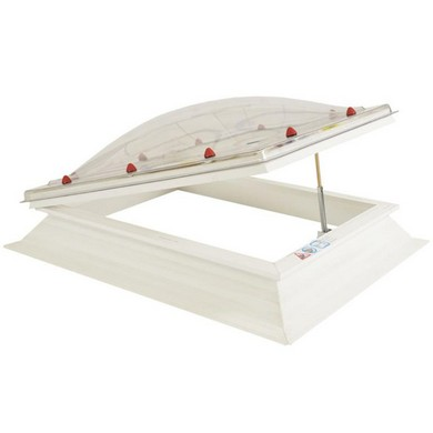 Loft Shop Manual Opening Roof Dome Double Skin