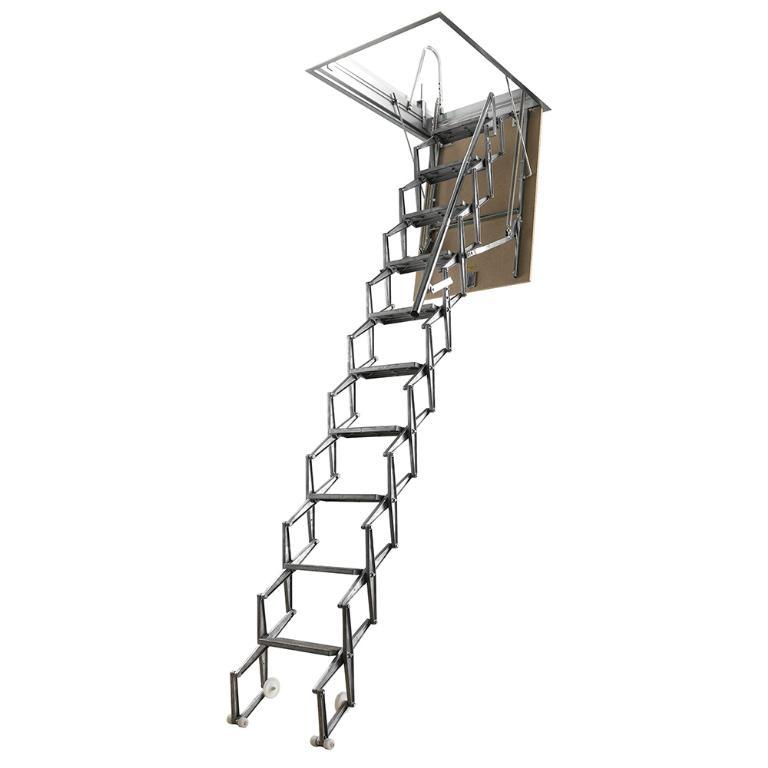 fantozzi concertina loft ladder. Black Bedroom Furniture Sets. Home Design Ideas