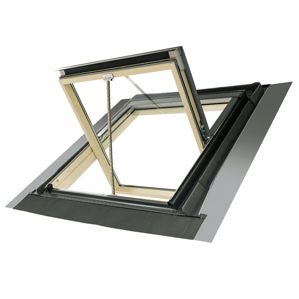 Fakro Pine Smoke Ventilation Roof Window FSR