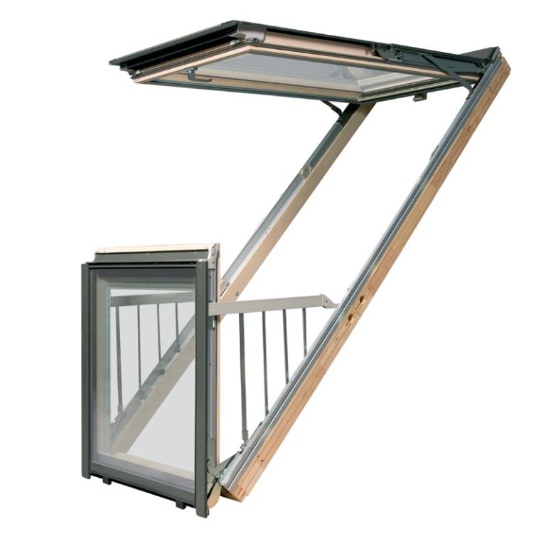 Fakro Balcony Roof Window FGH-V P2 Galeria
