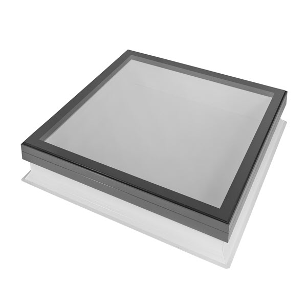 Coxdome Fixed Flat Glass With Vertical Upstand