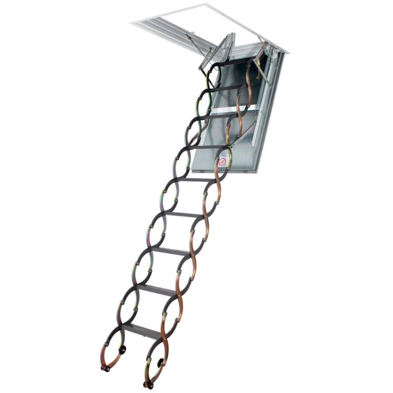 Concertina Loft Ladder Fire Rated LSF