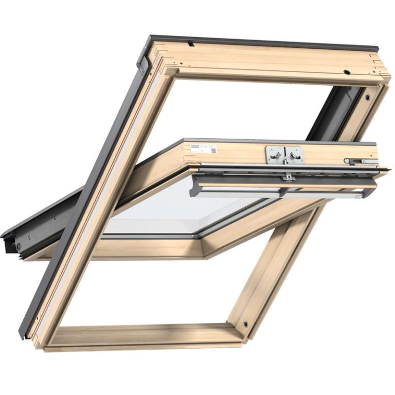 Velux Centre Pivot Timber Roof Window Ggl