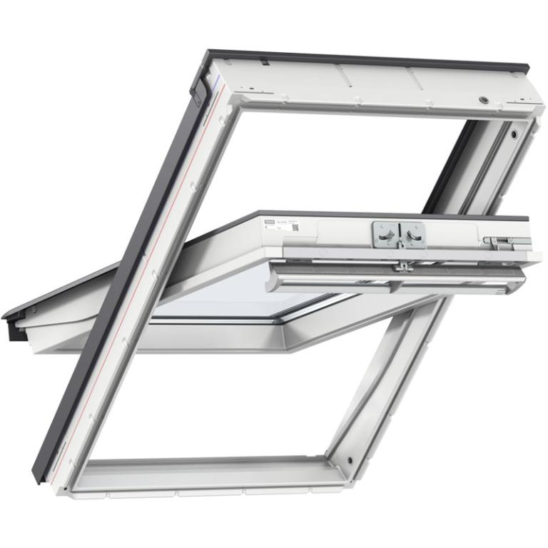 VELUX® Centre Pivot White Painted Roof Window GGL