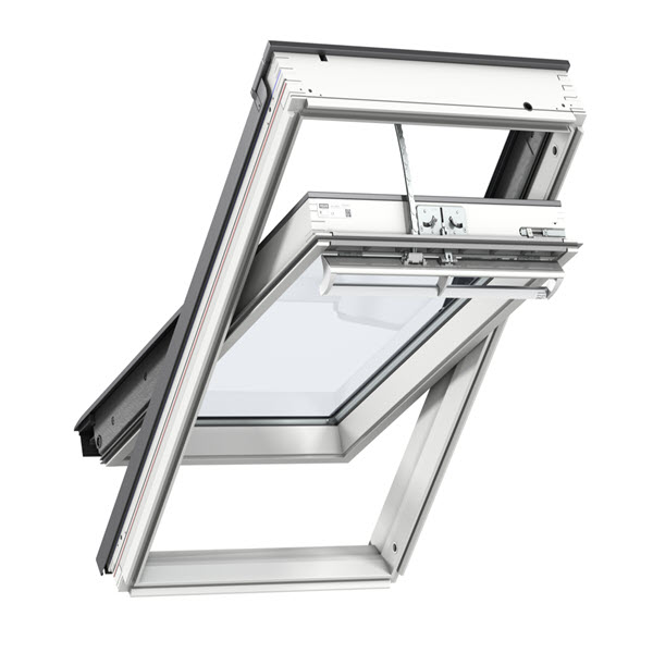VELUX® White Painted Solar Roof Windows