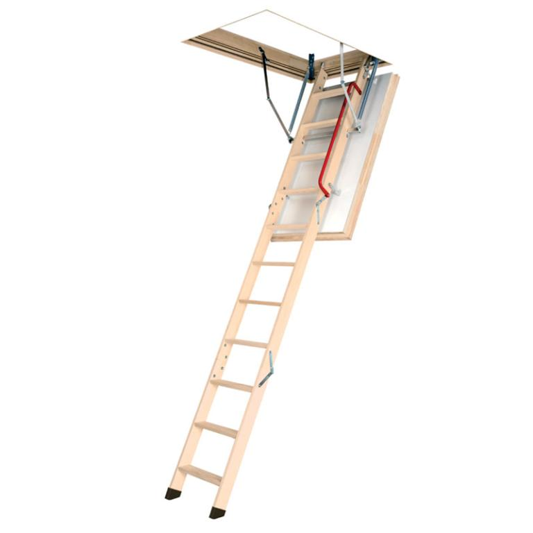 High Air Tightness Timber Loft Ladder LWT