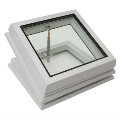 Loft Shop Manual Opening Flat Glass Only PVC